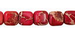 Ruby Impression Jasper Puff Square 10mm