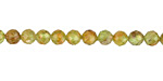 Peridot Faceted Round 5mm