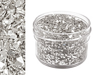Silvery Moon Vintage Glass Glitter (Shards) 1 oz.