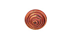 Patricia Healey Copper Small Spiral Button 15mm