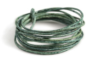 Weathered Basil Leather Cord 1.5mm