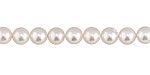 Pearly White Shell Pearl Round 6mm