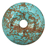 Blue Magnesite Donut 45mm