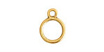 Nunn Design Antique Gold (plated) Toggle Ring 17x13mm