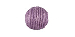 Lavender Thread Wrapped Bead 14mm