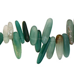 Green Agate Stick 5-7x13-24mm