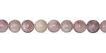 Ruby Quartz (Lavender) Round 6mm