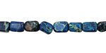 Midnight Blue Impression Jasper Tumbled Nugget 7-9x6mm