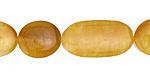 Yellow Jade Varying Ovals 15-25x13mm