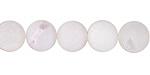 White Agate (matte) Round 10mm
