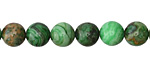 Green Crazy Lace Agate Round 8mm