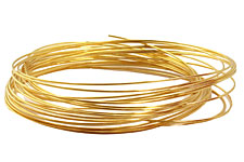 Memory Wire Gold (plated) Oval Bracelet .35 oz.