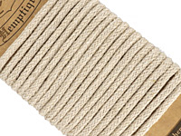 Natural Hemp Braided Rope 4mm, 3m