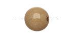 Tagua Nut Parchment Round 16mm