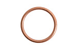 Nunn Design Antique Copper (plated) Open Frame Small Hoop 24.5mm