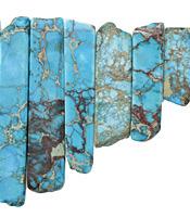 Ocean Blue Impression Jasper Graduated Stick 8-10x12-54mm