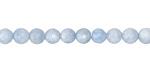 Aquamarine Faceted Round 4-5mm