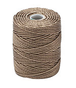 C-Lon Antique Brown Tex 400 (1mm) Bead Cord