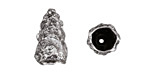 Zola Elements Antique Silver (plated) Nugget Cone 10x18mm