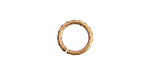 Nunn Design Antique Gold (plated) Textured Jump Ring 12mm