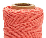 Sunset Coral Hemp Twine 20 lb, 205 ft