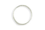 Vintaj Sterling Silver (plated) Stacking Ring 21mm, Size 8