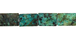 African Turquoise Thin Pillow 14x10mm