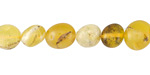 Yellow Opal Pebble 8-12x8-10mm