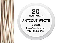 Parawire Antique White 20 Gauge, 6 Yards