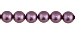 Lavender Shell Pearl Round 8mm