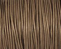 Gauriya (metallic) Round Leather Cord 1.5mm