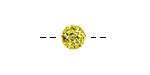 Dandelion Pave (w/ Preciosa Crystals) Round 8mm