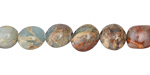 Impression Jasper Tumbled Nugget 8-12x8-10mm