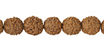 Rudraksha 5-Faced Beads 8-9mm