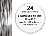 Parawire Stainless Steel 24 gauge, 20 yards