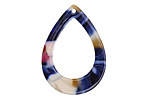 Zola Elements Twilight Acetate Open Drop Focal 22x31mm