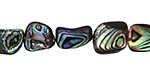 Abalone Nugget 10-15x7-13mm