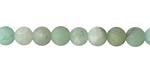 Green Aventurine (matte) Round 6mm