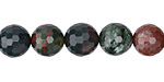 Bloodstone Faceted Round 10mm