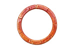 Patricia Healey Copper Large Lined Ring 28mm