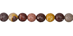 Mookaite Faceted Round 6mm