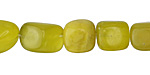 Olive Jade Tumbled Nugget 10-14mm