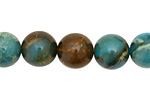 Turquoise Impression Jasper Round 12mm