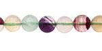 Argentina Rainbow Fluorite Round 8mm