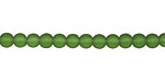 Evergreen Recycled Glass Round 4mm