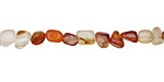 Carnelian (natural) Mini Nugget 4-6mm