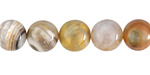 Natural Yellow Agate Round 10mm