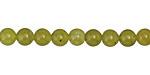 Olive Jade Round 6mm