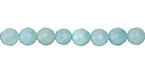 Amazonite Faceted Round 6mm