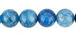 Blue Rutilated Quartz Round 12mm